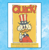 "Playbill from 1970 Scope and Scalpel production of ""Quack!"""